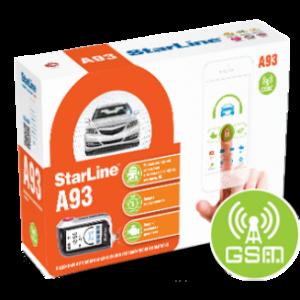 Установка автосигнализация StarLine A93 GSM
